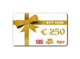 GAW-Shopping Card (1x250 €)